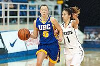 2014.11.29 UBC Women's Basketball vs Saskatchewan Huskies