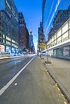 USA, NY, New York, Mid-Town Dawn
