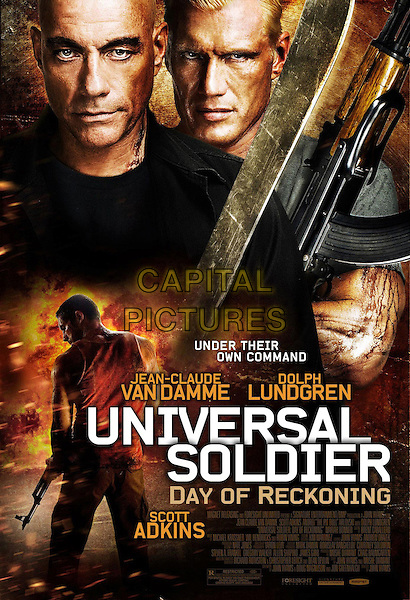 POSTER ART.in Universal Soldier: Day of Reckoning (2012).*Filmstill - Editorial Use Only*.CAP/FB.Supplied by Capital Pictures.