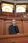 Chris Morgan Jones, The Spying Game: Reality and Fiction at the Sheldonian, during the Sunday Times Oxford Literary Festival, UK, 16 - 24 March 2013. <br />