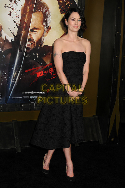 4 March 2014 - Hollywood, California - Lena Headey. &quot;300: Rise of an Empire&quot; Los Angeles Premiere held at the TCL Chinese Theatre. <br /> CAP/ADM/BP<br /> &copy;Byron Purvis/AdMedia/Capital Pictures