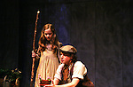 """Isabella Convertino & Zach Fineblum as Philipstown Depot Theatre presents The Secret Garden on November 15, 2009 in Garrison, New York. The musical The Secret Garden is the story of """"Mary Lennox"""", a rich spoiled child who finds herself suddenly an orphan when cholera wipes out the entire Indian village where she was living with her parents. She is sent to live in England with her only surviving relative, an uncle who has lived an unhappy life since the death of his wife 10 years ago. """"Archibald's son Colin"""", has been ignored by his father who sees Colin only as the cause of his wife's death.This is essentially the story of three lost, unhappy souls who, together, learn how to live again while bringing Colin's mother's garden back to life. (Photo by Sue Coflin/Max Photos)...."""