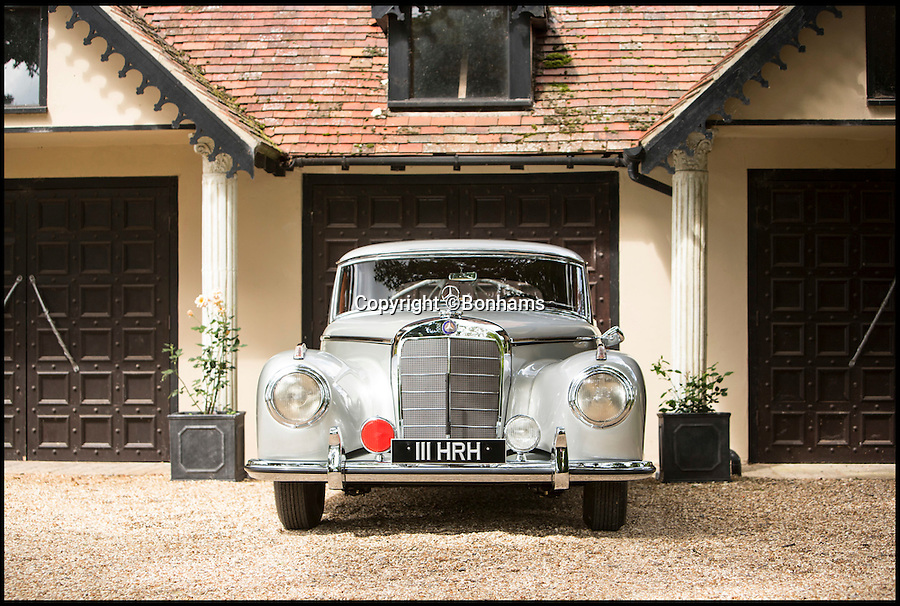 BNPS.co.uk (01202 558833)<br /> Pic: Bonhams/BNPS<br /> <br /> A car fit for a king... <br /> <br /> This classic Mercedes-Benz that was used to chauffeur royalty in the post-war years has emerged at auction. <br /> <br /> Hussein of Jordan was king for almost half a century, guiding the Middle Eastern country through the Cold War and four decades of Arab&ndash;Israeli conflict. <br /> <br /> He purchased this 1953 Mercedes-Benz 300 S Coupe as his personal vehicle. <br /> <br /> The late Jordanian was known to be a automobile enthusiast and considered legendary British F1 driver, Stirling Moss, a close friend.