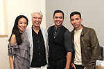 David Byrne, Jaygee Macapugay, Jose Llana, Conrad Ricamora @ Here Lies Love/Apple Store Soho 10/25