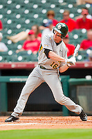 Brooks Pinckard #16 of the Baylor Bears at bat against the Houston Cougars at Minute Maid Park on March 4, 2011 in Houston, Texas.  Photo by Brian Westerholt / Four Seam Images