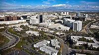Aerial Photograph Of Costa Mesa