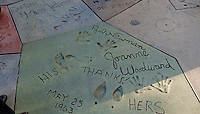 Grauman's, Chinese, Theatre, Paul Newman, Joanne Woodward, Hollywood, Boulevard, Stars, Hand - Footprint, Impressions, entertainment, tourist, attractions Hand - Footprint