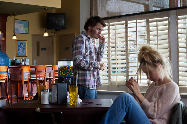 "Emile Hirsch and Juno Temple in the feature film ""Killer Joe"" directed by William Friedkin."