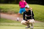 Golfer Ananya Vitayakonkomol of Thailand during the 2017 Hong Kong Ladies Open on June 10, 2017 in Hong Kong, China. Photo by Marcio Rodrigo Machado / Power Sport Images