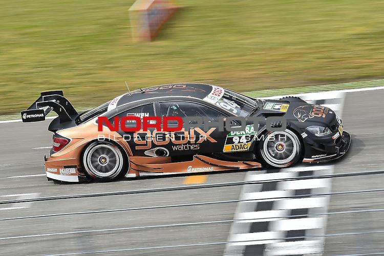 DTM 2015, 01.Lauf Hockenheimring, 01.05. - 03.05.15 <br /> Pascal Wehrlein (DEU#94) gooix/Original-Teile Mercedes-AMG C-Coup&eacute;<br /> <br /> <br /> <br /> Foto &copy; nordphoto /  Bratic