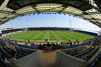A general view of Sandy Park, home of Exeter Chiefs <br /> <br /> Photographer Bob Bradford/CameraSport<br /> <br /> Aviva Premiership Play-Off Semi Final - Exeter Chiefs v Newcastle Falcons - Saturday 19th May 2018 - Sandy Park - Exeter<br /> <br /> World Copyright &copy; 2018 CameraSport. All rights reserved. 43 Linden Ave. Countesthorpe. Leicester. England. LE8 5PG - Tel: +44 (0) 116 277 4147 - admin@camerasport.com - www.camerasport.com