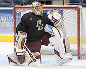 Cory Schneider - The Boston College Eagles practiced on Wednesday, April 5, 2006, at the Bradley Center in Milwaukee, Wisconsin, in preparation for their 2006 Frozen Four Semi-Final game against the University of North Dakota.