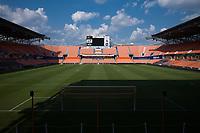 Houston, TX - Friday September 13, 2019: NWSL regular season match between the Houston Dash and Utah Royals FC at BBVA Stadium.