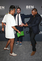 BEVERLY HILLS, CA - AUGUST 4: Aisha Tyler, Stephen Amell, David Ramsey, Guest, at The CW's Summer TCA All-Star Party at The Beverly Hilton Hotel in Beverly Hills, California on August 4, 2019. <br /> CAP/MPI/FS<br /> ©FS/MPI/Capital Pictures