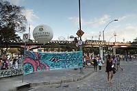 BELO HORIZONTE-MG-15.09.2013-Primeira virada cultural de Belo Horizonte- arredores do viaduto Sta. Teresa-domingo,15-(Foto: Sergio Falci / Brazil Photo Press)