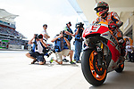 austin. tejas. USA. motociclismo<br /> GP in the circuit of the americas during the championship 2014<br /> 12-04-14<br /> En la imagen :<br /> qualifying Moto GP<br /> marc marquez<br /> photocall3000 / rme