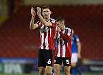 Chris Basham of Sheffield Utd applauds the fans during the English League One match at Bramall Lane Stadium, Sheffield. Picture date: December 10th, 2016. Pic Simon Bellis/Sportimage