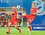 Roman Kienast and Umit Korkmaz at Euro 2008. Austria-Poland 06122008, Wien, Austria