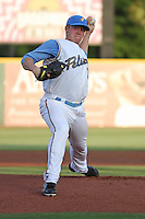 Myrtle Beach Pelicans pitcher Robbie Ross on the mound during a game against the Salem Red Sox at BB&T Coastal Field in Myrtle Beach, South Carolina on May 26, 2011.   Photo By Robert Gurganus/Four Seam Images