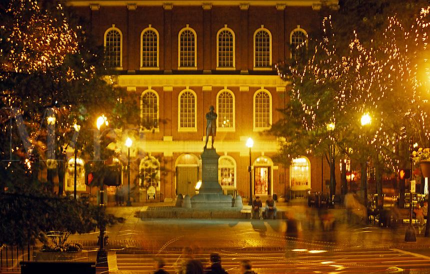 Faneuil Hall National Historic site Boston Massachusetts