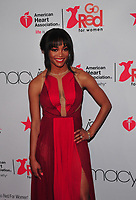 NEW YORK, NY - February 8: Rachel Lindsay at the Red Dress / Go Red For Women Fashion Show at Hammerstein Ballroom on February 8, 2018 in New York City Credit: John Palmer / MediaPunch