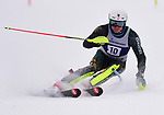 FRANCONIA, NH - MARCH 10: William Saint-Germain of Vermont participates in the men's Slalom at the Division I Men's and Women's NCAA Skiing Championships held at Jackson Ski Touring on March 10, 2017 in Jackson, New Hampshire. (Photo by Gil Talbot/NCAA Photos via Getty Images)