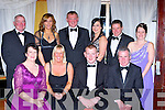 The Committee members at the Kerry Hunt Ball in the Killarney Avenue Hotel on Saturday night front row l-r: Angela McSweeney Glenflesk, Karen Hickey Duagh, Timothy John Dwyer Killorglin. Back row: Tom McSweeney Glenflesk, Catriona Brosnan Beaufort, Fred O'Connor, Kelly Murray Scartaglen, Stephen Gamble and Kelly Anne Dwyer Killorglin