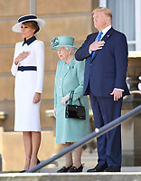 President Donald Trump Arrives at Buckingham Palace - President Trump State Visit to London