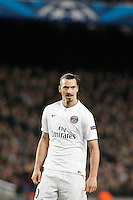 Paris Saint-Germain's Zlatan Ibrahimovic during Champions League 2014/2015 match.December 10,2014. (ALTERPHOTOS/Acero) /NortePhoto