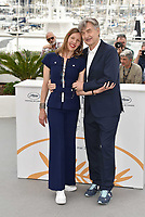 CANNES, FRANCE - MAY 13: Director Wim Wenders and his wife Donata Wenders at the photocall for 'Pope Francis - A Man Of His Word' during the 71st annual Cannes Film Festival at Palais des Festivals on May 13, 2018 in Cannes, France.<br /> CAP/PL<br /> &copy;Phil Loftus/Capital Pictures