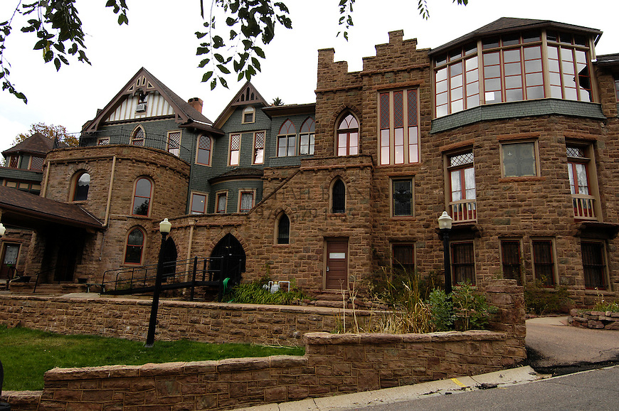 The Miramont Castle Museum in Manitou Springs, CO. Michael Brands for The New York Times.