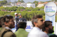 Jose Maria Olazabal (ESP) on the 7th tee during the second round of the Mutuactivos Open de Espana, Club de Campo Villa de Madrid, Madrid, Madrid, Spain. 04/10/2019.<br /> Picture Hugo Alcalde / Golffile.ie<br /> <br /> All photo usage must carry mandatory copyright credit (© Golffile | Hugo Alcalde)