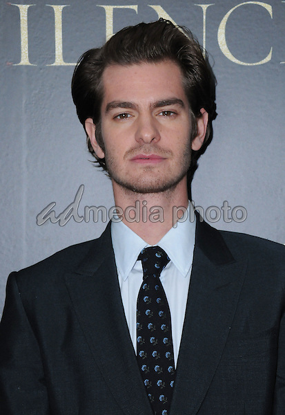 "05 January 2017 - West Hollywood, California - Andrew Garfield. ""Silence"" Los Angeles Premiere held at the Directors Guild of America. Photo Credit: Birdie Thompson/AdMedia"