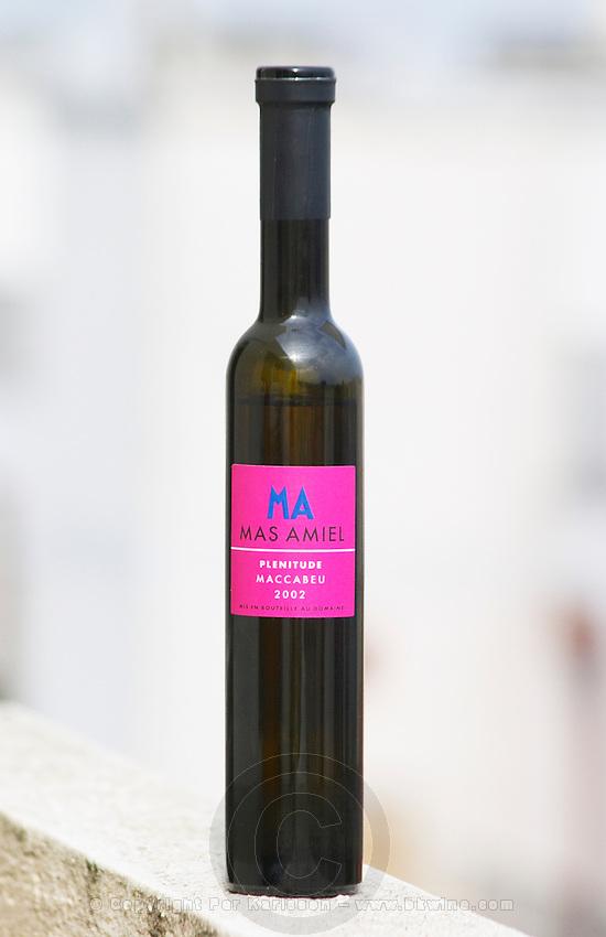Mas Amiel Plenitude Maccabeu 2002 Vin de Liqueur, Languedoc-Roussillon, France