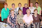 Having a good time at the tea dance in the Listowel Arms Hotel on Sunday were front l-r, Joan Hunt, Listowel, Betty O'Connor, Kilmorna, M. Bradley, Tralee, Angela Carmody, Listowel.  Back  Mollie Nolan, Mary Pelliican, Kathleen McCarthy, Betty Histon, Peggy Brick and Mary Buckley, all from Listowel. .   Copyright Kerry's Eye 2008