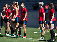 USWNT Training, September 12, 2017