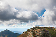 Mount Liberty from Appalachian Trail (Franconia Ridge Trail) in the White Mountains of New Hampshire USA.
