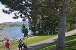 Wenatchee, Apple Capital Recreation Loop Trail, Columbia River, Wenatchee Riverfront Park, Chelan County, Eastern Washington, Washington State, Pacific Northwest,