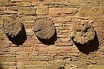 Pueblo Bonito-three vigas..Chaco Culture National Historical Park