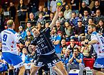 Harald Reinkind, (THW Kiel #6) / TVB 1898 Stuttgart - THW Kiel / DHB Pokal Viertelfinale / HBL / 1.Handball-Bundesliga / SCHARRrena / Stuttgart Baden-Wuerttemberg / Deutschland beim Spiel im DHB Pokal Viertelfinale, TVB 1898 Stuttgart - THW Kiel.<br /> <br /> Foto © PIX-Sportfotos *** Foto ist honorarpflichtig! *** Auf Anfrage in hoeherer Qualitaet/Aufloesung. Belegexemplar erbeten. Veroeffentlichung ausschliesslich fuer journalistisch-publizistische Zwecke. For editorial use only.