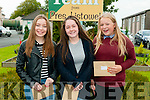 Students from Presentation Convent, Listowel who received their Junior cert results on Wednesday morning . L - R Alana Curtin, Mary Kate Healy & Laura Sheahan
