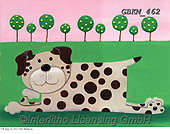 Kate, CUTE ANIMALS, LUSTIGE TIERE, ANIMALITOS DIVERTIDOS, paintings+++++Flat dog 1 with scene.,GBKM462,#ac#, EVERYDAY ,dog,dogs