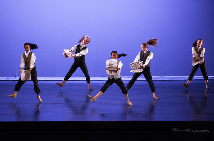 """Matinee Performance """"A Taste Of Broadway"""", the Spring Gala production of 3D Project Jazz Company. Cary Arts Center, 14 March 2015."""