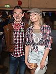 John Finley and Hazel Moran at the Oberstown Farm barn dance. Photo:Colin Bell/pressphotos.ie