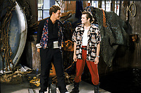 Ace Ventura: Pet Detective (1994) <br /> Jim Carrey &amp; Dan Marino<br /> *Filmstill - Editorial Use Only*<br /> CAP/KFS<br /> Image supplied by Capital Pictures