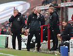 Chris Wilder manager of Sheffield Utd during the championship match at the Oakwell Stadium, Barnsley. Picture date 7th April 2018. Picture credit should read: Simon Bellis/Sportimage