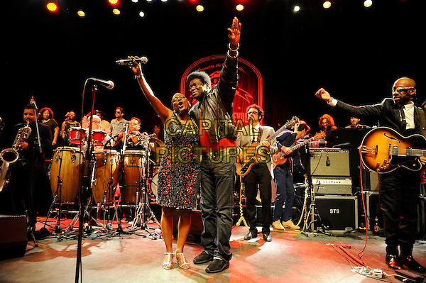 LONDON, UK, JUNE 27: Sharon Jones &amp; Charles Bradley performing as part of the Daptone Records Super Soul Revue concert at Shepherd's Bush Empire on June 27th 2014.<br /> CAP/MAR<br /> &copy; Martin Harris/Capital Pictures