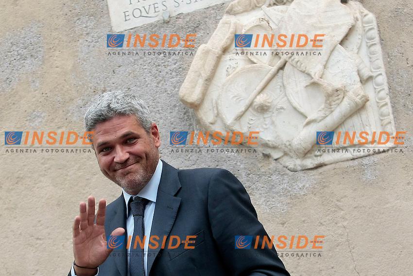 Daniele Ozzimo, Assessore Casa e Decoro Urbano<br /> Roma 27/06/2013 Campidoglio. Prima riunione della nuova Giunta capitolina.<br /> Photo Samantha Zucchi Insidefoto