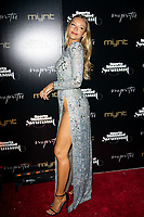 MIAMI BEACH, FL - MAY 11: Camille Kostek attends the SI Swimsuit On Location Closing Party at Myn-Tu on May 11, 2019 in Miami Beach, Florida.<br /> CAP/MPI140<br /> ©MPI140/Capital Pictures