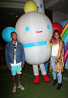 LOS ANGELES, CA - AUGUST 10: Kelly Rowland, Pharrell Williams, at the Netflix Series Premiere Of True And The Rainbow Kingdom at the Pacific Theatres at The Grove in Los Angeles, California on August 10, 2017. Credit: Faye Sadou/MediaPunch